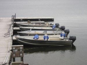 Boats ready