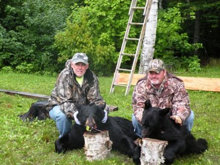 Rick & Kraig pumped after the hunts!