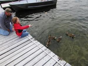 triciafeeding ducks